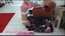 Backstage striptease by real czech blonde Vorschaubild
