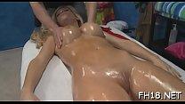 Gir gets an wazoo massage then copulates her therapist