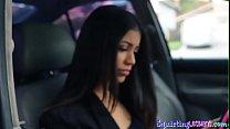 Teen latina squirting after taboo tribbing Thumbnail