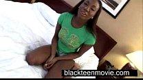 Cute ebony teen with a nice butt in hardcore black sex video Vorschaubild