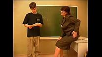Russian teacher and boy Preview