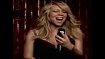 Short Video Clip of Mariah Carey young Wearing bra & white panties