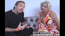 Desperate Wife Claudia Marie Eats Cum!min
