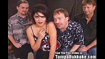 Becky's Tampa Bukkake Blowjob After Party! thumbnail