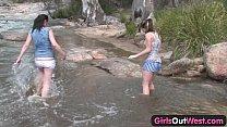 Секс с подругой мамы на реке ролики