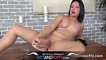 Wetandpuffy - Teen masturbation and dildo play ...
