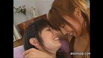 Japanese Lesbians Deep Kiss thumbnail