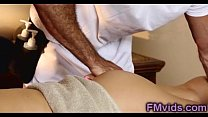 Sweet blonde fucked hard by horny masseur pornhub video