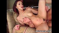 Asian slut Katsuni takes a big dick in her anus - download porn videos