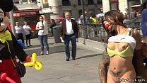 Spanish Babe Fucked In Public Sex Shop