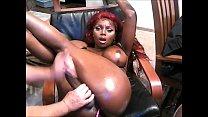 Shemale Ebony Babe - Handjob By Her Lover