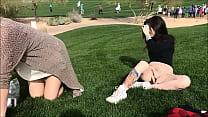 (sexyladies.site) Masturbating at a Golf Tournament