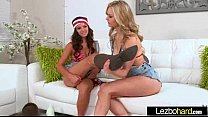 Lez Girls (Shae Summers & Alli Rae) In Sex Acti...