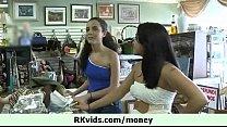 Hot teen girl let us fuck her for cash 23