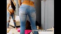 Beautiful Teen in jeans Strip Tease On Webcam's Thumb