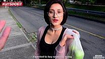Tiny Latina Teen picked and fucked by Big Black Cock thumbnail
