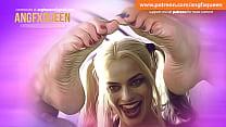 Harley Quinn Feet Footjob