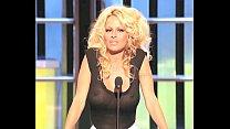 Pamela Anderson Busty In A See Thru Top