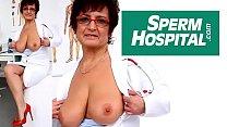 Czech mom Gabina is dirty nurse thumbnail