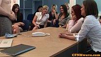 CFNM handjob loving bitches
