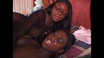 Two black chicks in FFM threesome » nude mythili thumbnail