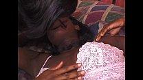 Two black chicks in FFM threesome