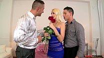 Hardbody slut Erica Ftes gets DP'ed by her 2 Boyfriends - 9Club.Top