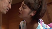 Rei Mizuna aSian wife drilled in really hot man...