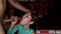 68 Horny sluts swallow cum at cfnm party19