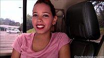 Young Ebony Girl First Gloryhole