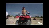 Hot Girls Driving 4wheelers Naked!