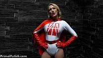 Superheroine Made Into Sexbot
