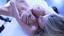 Busty Blonde Puma Swede Cums with New Vibrator! pornhub video