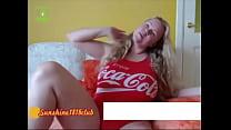 Coca Cola Churbe webcam show recorded July 23rd - 9Club.Top