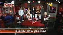 Francisca Undurraga descuido en toc show [방송사고 broadcast accident]