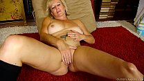 Super sexy old spunker in kinky boots loves to ...