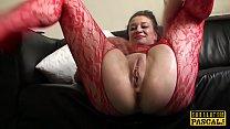Facefucked mature Britt slut analy wrecked pornhub video