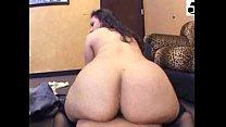 Super hot and big booty latina riding me