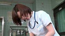 Image: Subtitled CFNM Japanese female doctor gives patient handjob