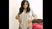 Hot Desi Big Boob Bhabhi Nude Dance And Getting...