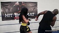 13643 Interracial Mixed Boxing Male vs Female preview