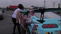 Toyota Supra Girl With Big Titts