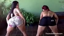 Dos Brasileñas Culonas Bailando