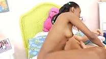 Jovencita negra folla al maximo preview image