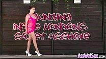 Anal Hardcore-Sex Mit Großen Nassen Geölt Hintern Girl (london Keyes) Film-20