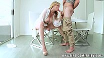 Brazzers - Blonde milf Julia Ann takes young cock thumbnail