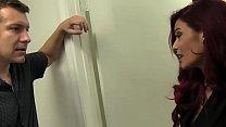 Classy Redhead MILF Bangs Her Neighbor thumb