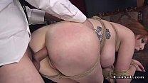 Big ass redhead Milf anal bondage fucked thumbnail