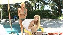 Blonde MILF Seduces Teen Stepdaughter, HD Porn: xHamster  - abuserporn.com