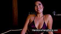 Busty Asian babe double penetration gangbanged [구멍 동시 삽입 Double Penetration]